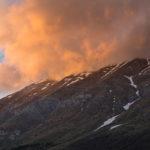 3-Antonella Taddei - Versante meridionale del Gran Sasso al tramonto
