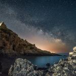 4-Luca Scudiero - La scogliera di Ascea e la Via Lattea (Campania)