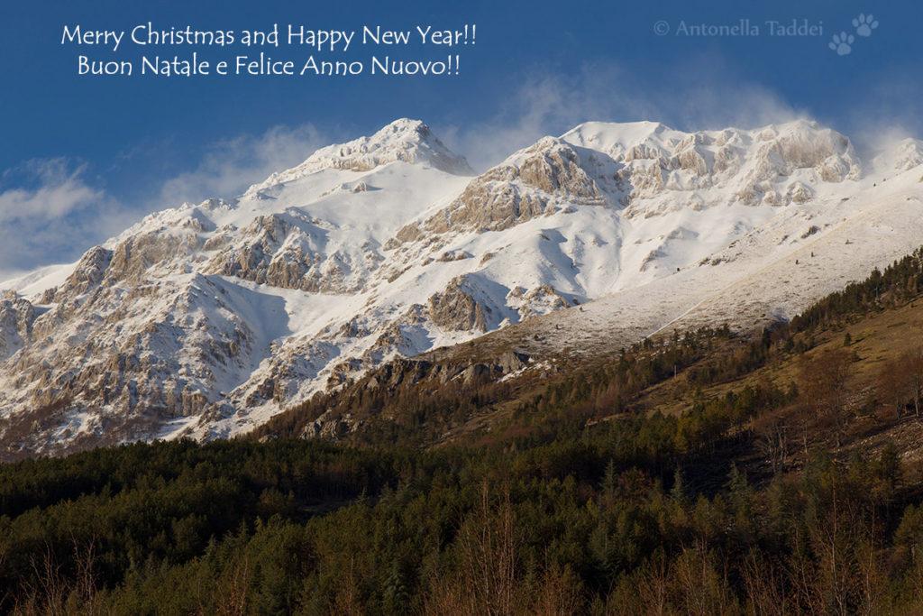 Buon Natale e Felice Anno Nuovo!! - Merry Christmas and Happy New Year!! Gran Sasso, versante meridionale (Abruzzo, Italy) - Canon EOS 6D, Canon EF 24-105 - 09 December 2017.