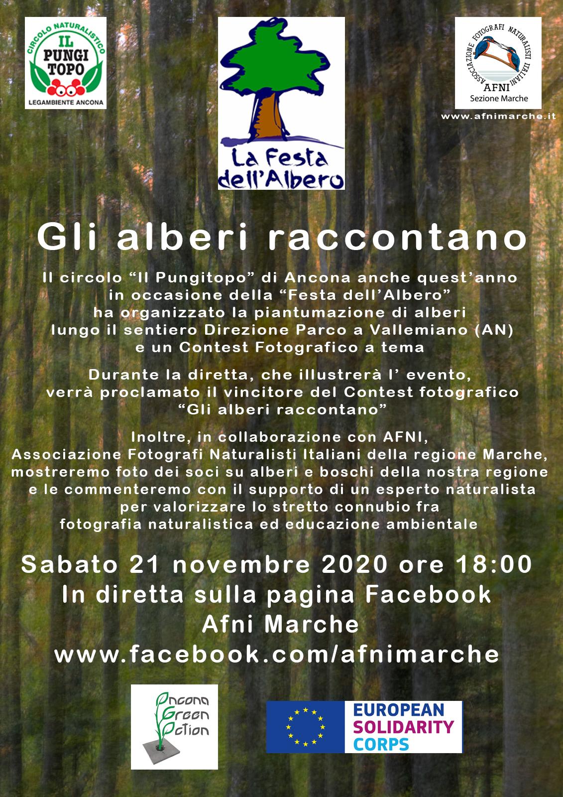 2020-11-21 gli alberi raccontano